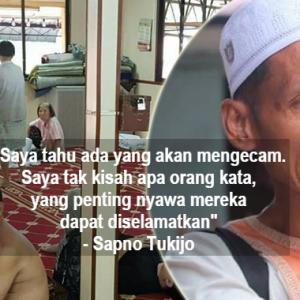 """""""Kecamlah, Saya Tak Kisah"""" - Bilal Pelawa Bukan Islam Menumpang Di Surau"""