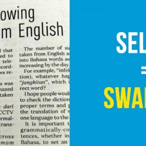 Suruh Kurangkan Pinjam Istilah B.Inggeris, Tapi Istilah Baharu Taknak Pakai Pula?