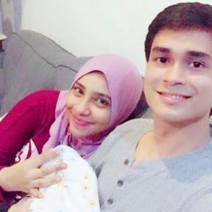 """Untungnya, Daddy Sendiri Potong Tali Pusat Baby L!"" - Lufya Omar"