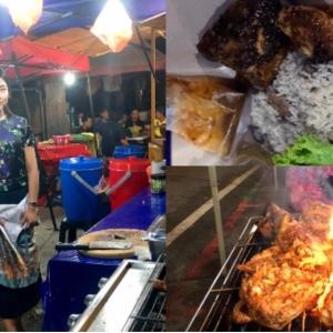 Gadis Jual Nasi Ayam Jadi Perhatian Netizen, Tak Sangka Owner Gerai Ni Cantik!