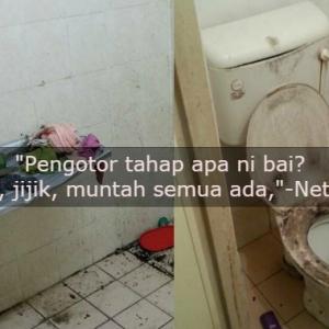 Toilet Berkerak, Mozek Tercabut!-Penyewa Lari, Tinggal Rumah Macam Kandang Binatang