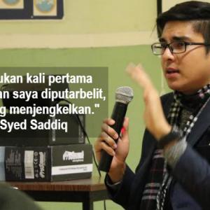 """Bila Saya Halalkan Seks Bebas?"" - Syed Saddiq Berang Kenyataan Diputar Belit"
