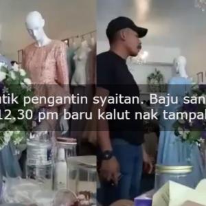 Pukul 12.30 PM Baru Kalut Jahit Manik, Pengantin Mengamuk Baju Sanding Tak Siap