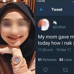 """Serius RM100 Sehari Tak Cukup? Elok Mati Je Kak!"" -Netizen"