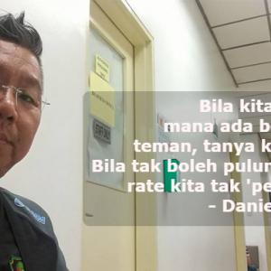 """Jangan Dok Pulun Sangat Kalau Ampa Makan Gaji"" - Kuli"
