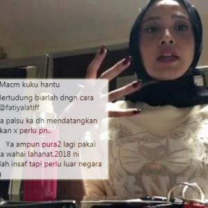 Fathia Latiff Dan Kecaman Netizen Berpisah Tiada, Kali Ni Kuku Jadi Mangsa