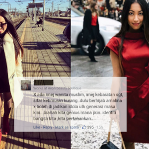 """""""Tolong Hentikan Semuanya,""""-Amalina Che Bakri Berang Digelar Kim K Malaysia"""