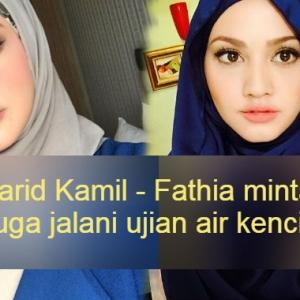 Polis  Kena Buat Ujian Air Kencing Juga-Pertahan Farid Kamil, Fathia Latiff Dihencap Lagi