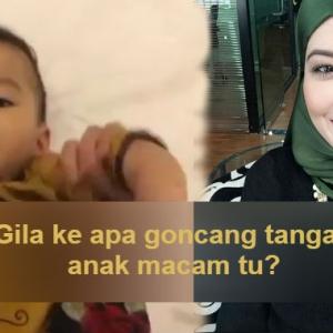 Patah Tulang Baru Ada Akal!- Goncang Tangan Anak, Syatilla Melvin Dituduh Kasar