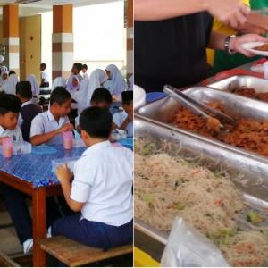 'Kak, Dah Basi Tu, Kenapa Campur?' - Tukang Masak Kantin Sekolah  Tak Nak Rugi