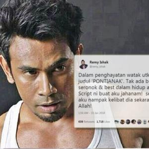 Terlalu Hayati Skrip Sampai 'Kak Ponti' Hantui Remy Ishak, Teknik Pemasaran Ke Tu?