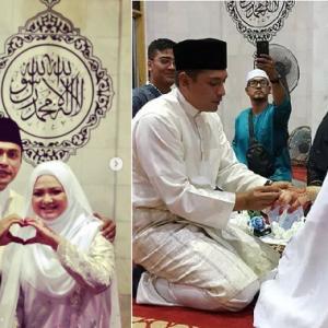 Tahniah! Adi Putra Dan Isteri Pertama Nikah Semula