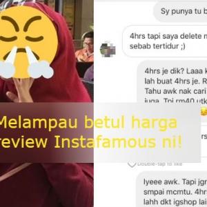 Instafamous Aniaya Peniaga! Bayar Mahal, Tapi Dia Tayang Review 4 Jam Je
