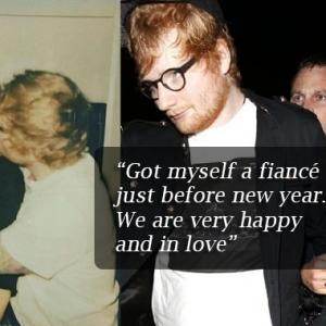 Penyanyi 'Perfect', Ed Sheeran Temui Kesempurnaan Pada Tunang