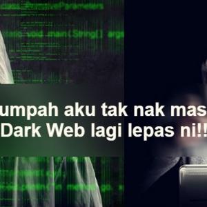 Macam Mana Dia Tahu Aku Pakai Laptop? - Seram! Lelaki Ini Serik Layari Dark Web