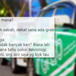 Disuruh Bagi 5 Bintang, Ini Jawapan Selamba Badak Penumpang Grab Dari Sabah!