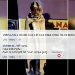 Sepandai-pandai Melompat, Kena Tangkap Jua - Netizen Terhibur Dengan 'Pocong' Nakal