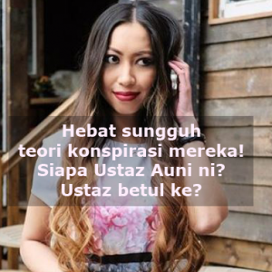 """Hot Chocolate Pun Agenda Freemason"" - Reaksi Dr Amalina Terhadap Ust Auni"