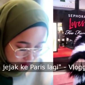 """""""Dilayan Macam Sampah Di Paris,""""- Vlogger Cerita Sisi Gelap Kota Romantis Ini"""