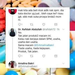 """Telan Pil Satu Lori Pun Tak Guna,""-Doktor Sangkal Keberkesanan Produk Minda"