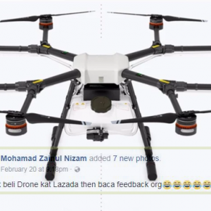 """""""Gadai Anak, Isteri Kepada Ah Long Beli Dron"""" - Netizen Mabuk Baca Review Dron RM42k Ini!"""