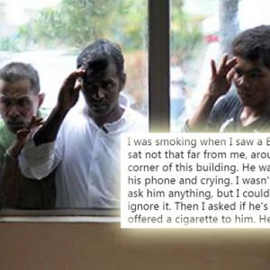 Sebab Bangla Ini Menangis Selepas Melihat Telefon Bimbitnya Meruntun Hati Netizen