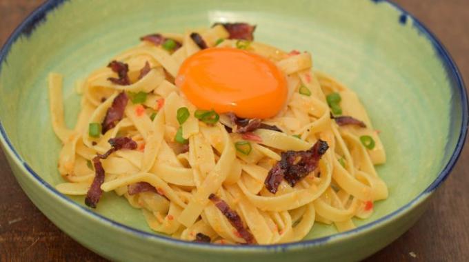 Sesuai Dengan Tekak Melayu, Jom Masak Pasta Masak Lemak