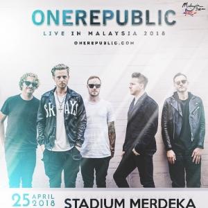 OneRepublic Bakal Gegarkan Stadium Merdeka 25 April Ini
