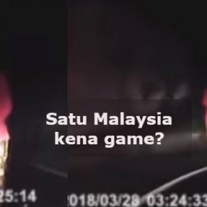 Satu Malaysia Kena 'Game', Video Viral Kebaya Merah Hanya Lakonan?