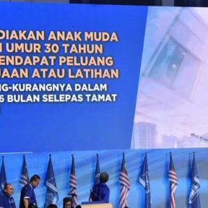 """""""Jamin Kerjaya Anak Muda Konon, Masa Depan Kami Dikorbankan Adalah!"""""""