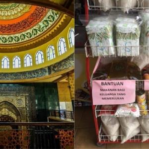 Kecewa Lihat Masjid Gah-gah Tapi Asnaf Depan Mata Berlapar Dahaga - Netizen