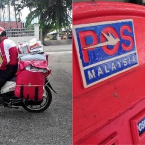 Hina Sangat Ke Kerja Posmen Di Malaysia Ni? - Abang Posmen Sedih Kena Maki