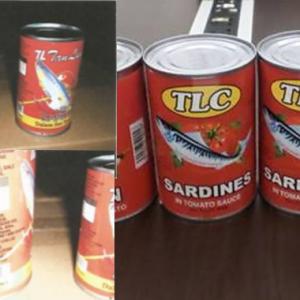 2 Jenama Ikan Sardin Dalam Tin Dari China Ada Cacing