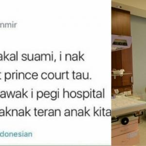 Amboi, Belum Kahwin Lagi Dah Demand Nak Bersalin Di Prince Court!