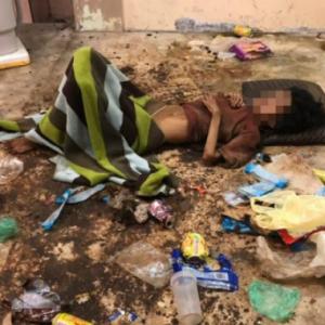 Bergelumang Najis, Wanita OKU Ditemui Kurus Kering Dalam Timbunan Sampah
