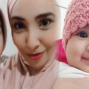 Netizen Kasihankan Anak Lufya, Pakai Tudung Walaupun Masih Kecil...
