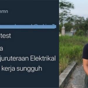 Tak Sangka! Dengan Status Viral, Lelaki Ini Ditawarkan Pekerjaan