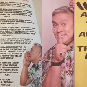 Buku Chef Wan Laku Keras! Eh, Macam Pernah Dengar Je Tagline Tu?