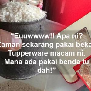 Kerana Penyukat Beras Je Pun, Sakan Netizen Membawang!