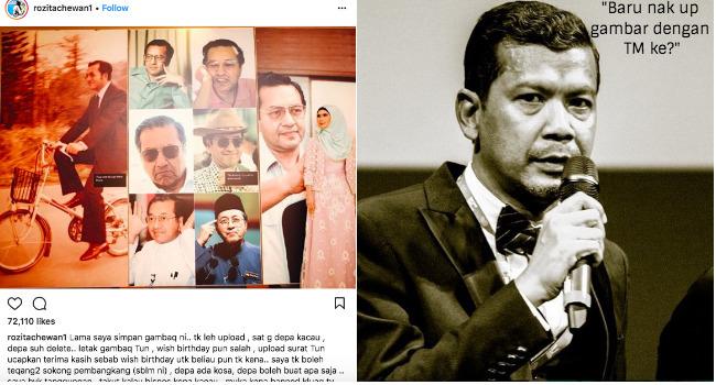 Namron Sindir Artis Yang Baru Up Dengan Tun M Che Ta Balas Jawapan