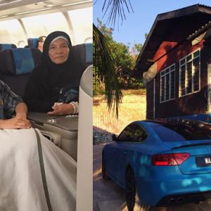 Allah Bagi Rumah Baru, Kereta Mercedes Kepada Mak Dan Ayah - Safiey Illias