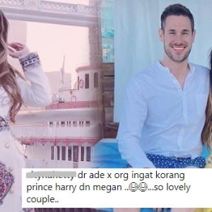 Dr Amalina & Teman Lelaki Disamakan Seperti Prince Harry & Megan Markle!