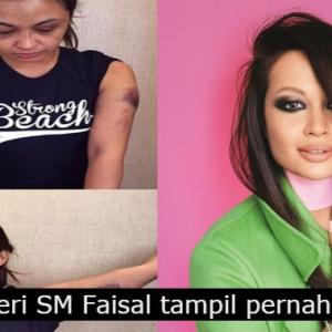 """""""Sebab Dia Kaya Semua Boleh Lepas?"""" Bekas Isteri SM Faisal Dakwa Teruk Kena Tibai"""