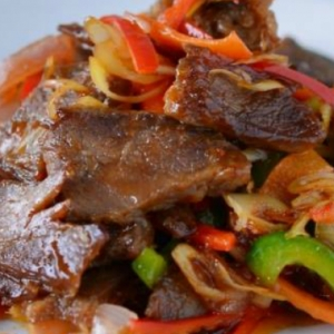 Berbuka Dengan Daging Goreng Serai, Mantap Dan Kaya Dengan Rasa