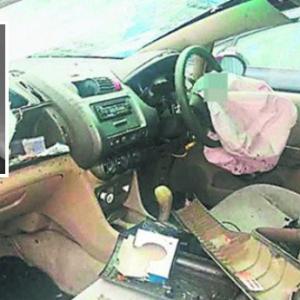 Pemuda Maut Akibat Leher Ditembusi Serpihan Logam 'Airbag' Kereta