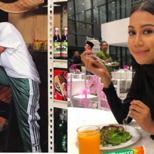 Video Sharifah Sakinah Ajak Makcik Bawang Makan Snek Sihat - Buat Netizen Berdekah