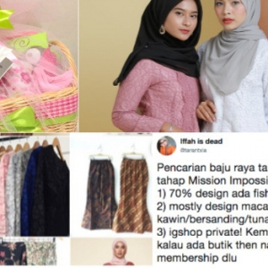 """Baju Raya Kononnya, Tapi 'Lace Penuh' Macam Nak Kahwin""- Netizen Kecewa"