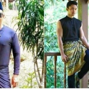 """""""Ini Baju Melayu Ke Baju Renang?"""" - Netizen Kecam Designer Baju Melayu Terlalu Hipster"""