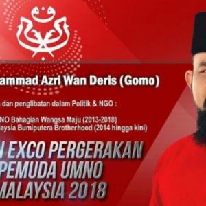 Papagomo Nak Bantu KJ, Tawar Diri Tanding EXCO Pemuda UMNO