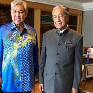 Isu Perjumpaan: Zahid Mahu Tahu Cara Uruskan UMNO- Tun Mahathir